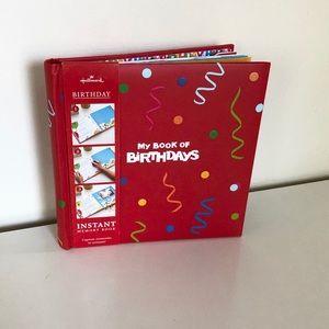 Hallmark Instant Memory Birthday Baby/ Kids Book